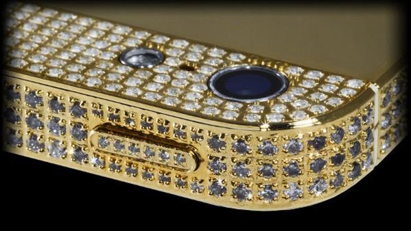 iPhone 5 berlapis berlian