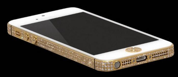 iPhone 5 berlapis emas