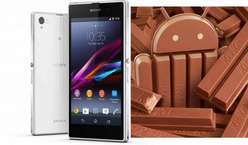 Sony Xperia dengan Android KitKat