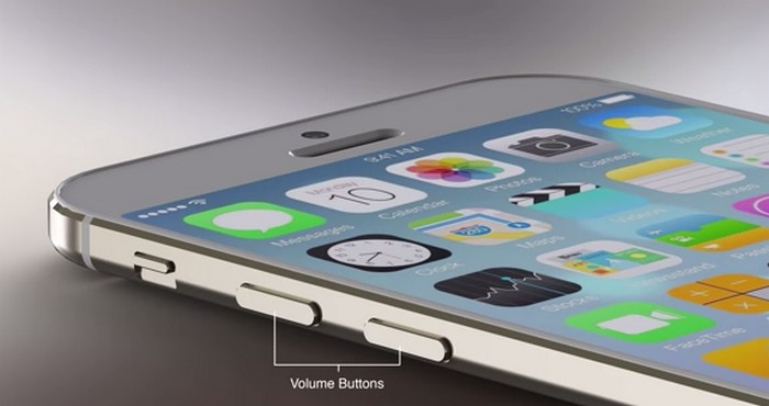 iPhone 6 concept volume buttons