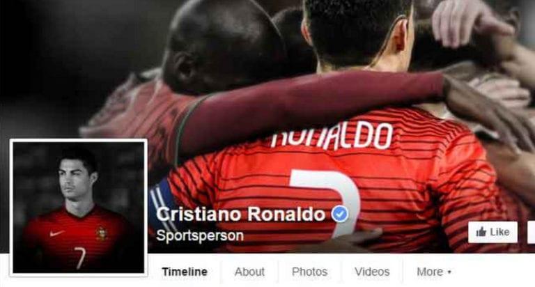 Jumlah Pengikut Facebook Cristiano Ronaldo Bisa Buat Negara Sendiri