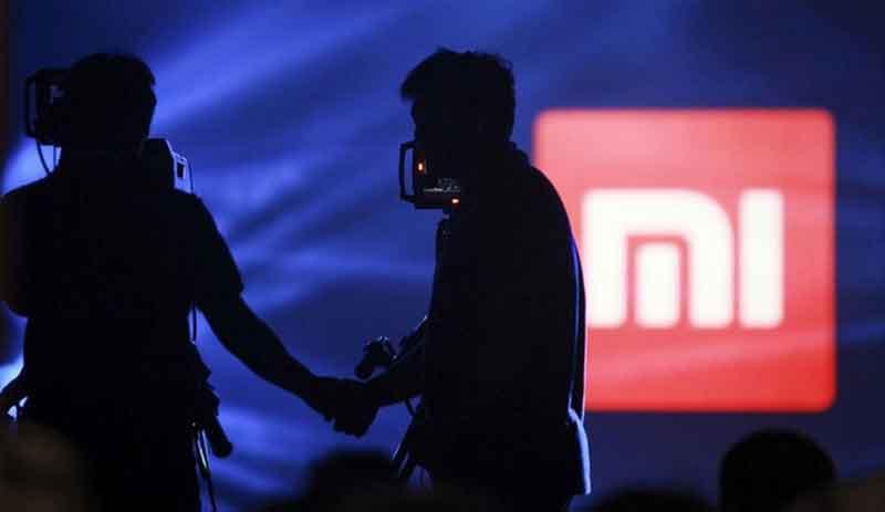 Xiaomi siluet blue