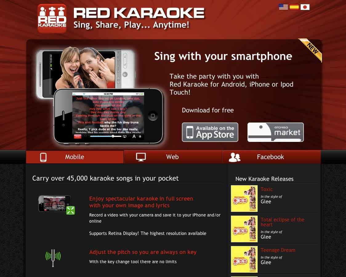 Red-Karaoke--Homepage