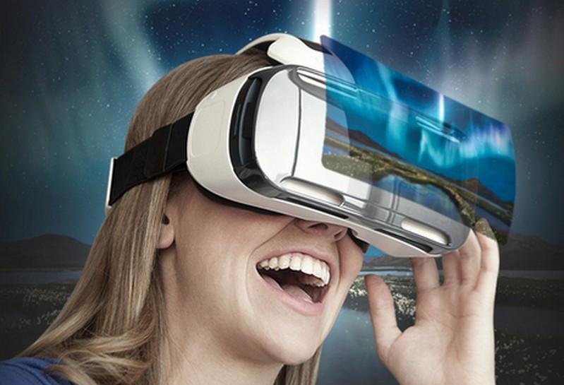 Samsung Gear VR headset virtual reality