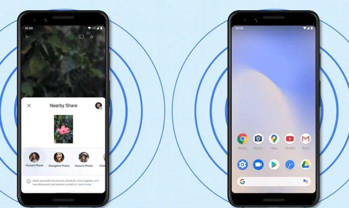 kelebihan android data sharing