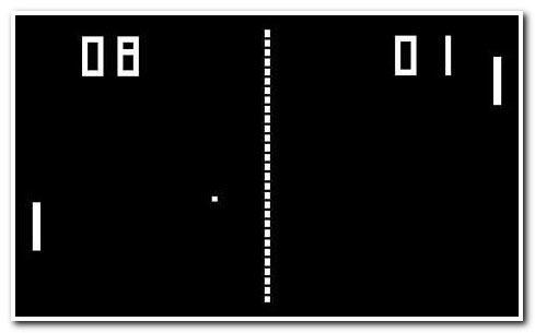 Pong-screen