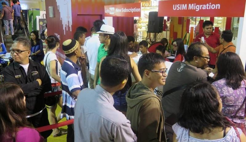 Telkomsel 4G LTE Carnival Bali both