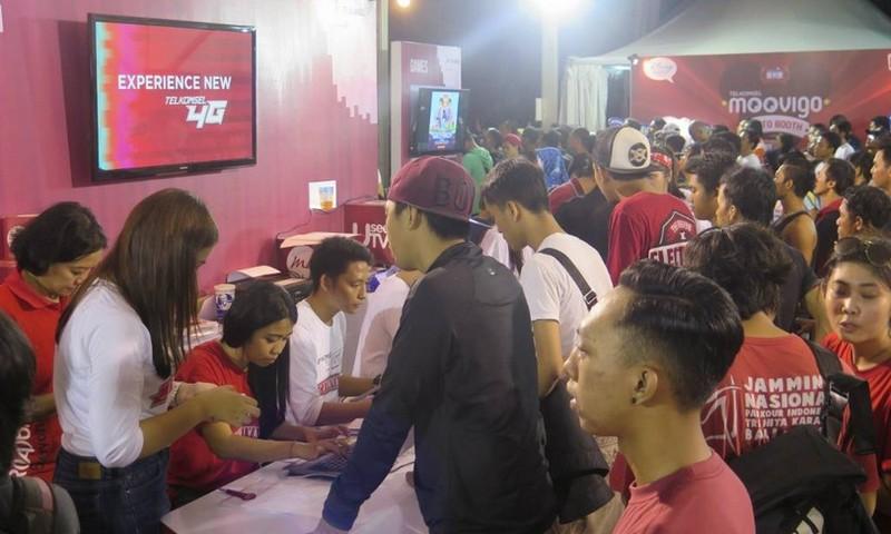 Telkomsel 4G LTE Carnival Bali