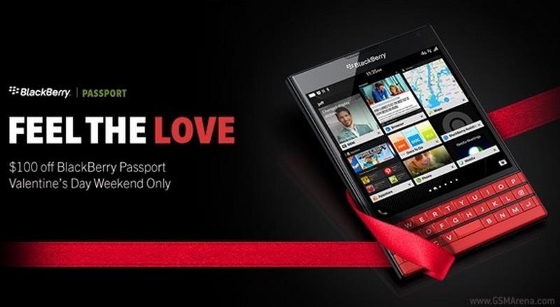 BlackBerry Passport Valentine