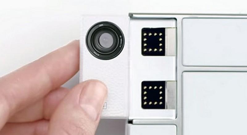 Toshiba modul kamera prototipe Project Ara