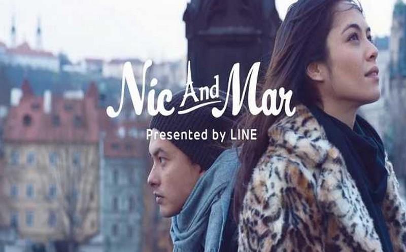 LINE mobile drama 'Nic and Mar'