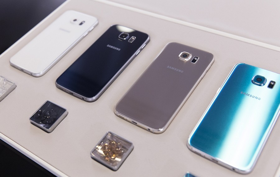 Samsung Galaxy S6 warna