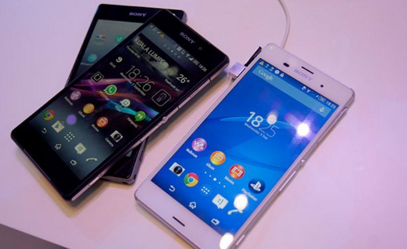 Sony Xperia Z1, Z2, Z3
