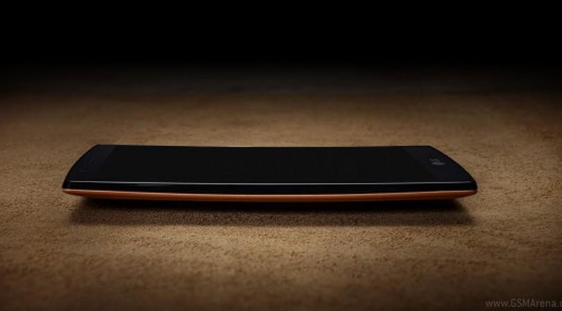 LG G4 desain lengkung