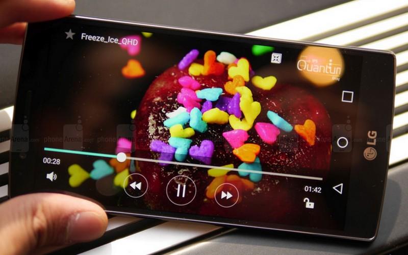 LG G4 hands-on camera