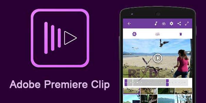 aplikasi Edit Video terbaik Android Adobe Premiere Clip