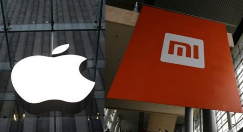 Apple-Xiaomi-logo