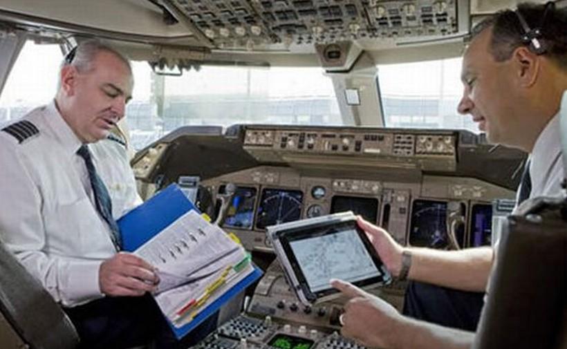 Pilot pakai iPad