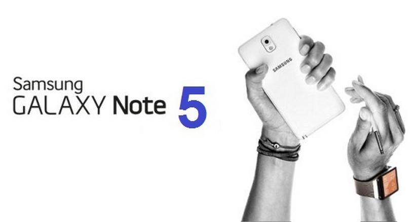 Samsung Galaxy Note 5 ilustrasi