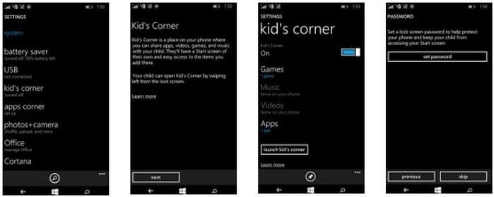 Berbagi Lumia 540 dengan anak 1.1
