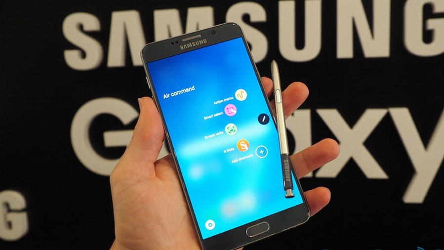 Samsung Galaxy Note 5 Hands-On