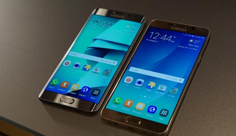 Samsung Galaxy Note 5 and Galaxy S6 Edge+