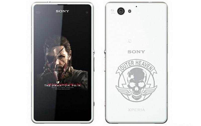 Sony Xperia J1 Compact Edisi MGS V The Phantom Pain