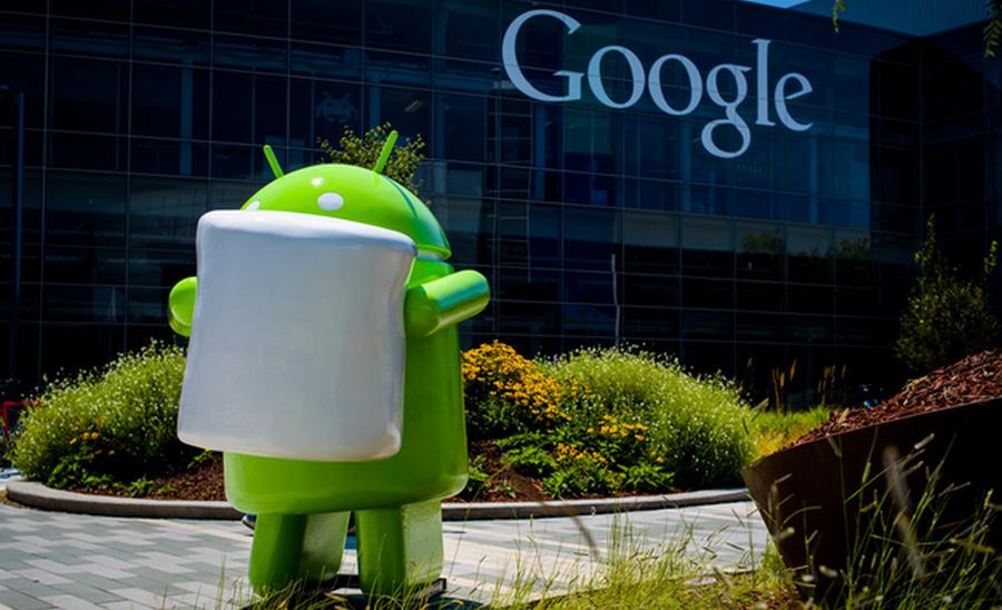 Android 6.0 Marshmallow Google office