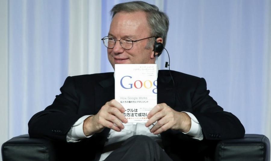 Eric Schmidt Chairman Alphabet Google