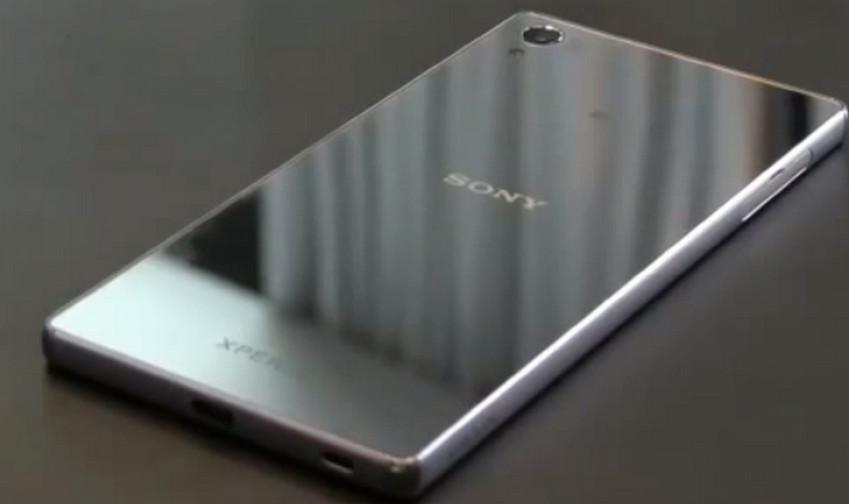 Sony Xperia Z5 update Sony Perancis