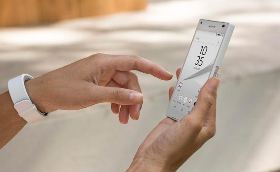 Sony Xperia Z5 Premium dengan layar 4K