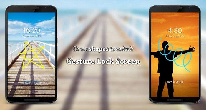 Aplikasi lock screen