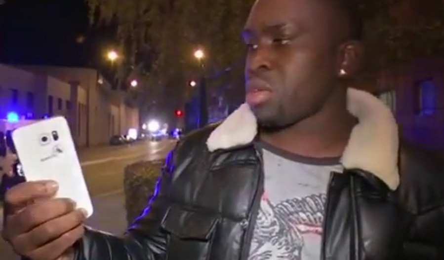 Sylvester korban bom Paris