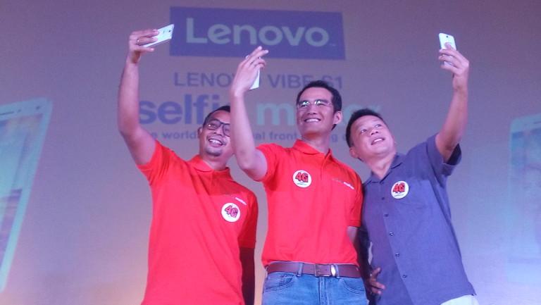 Lenovo Hadirkan Smartphone 2 Kamera Selfie, Harga Rp 3,9 Juta
