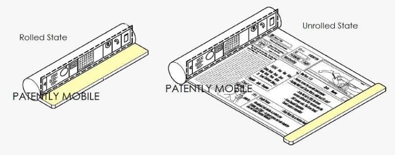 Samsung Ajukan Paten untuk Smartphone yang Dapat Digulung