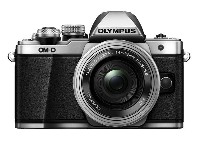 foto produk E-M10MarkII-BLK_front_M1442EZ-BLK(off) (2)