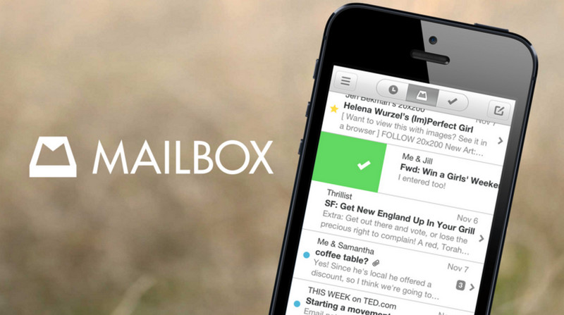 Mailbox app di iPhone