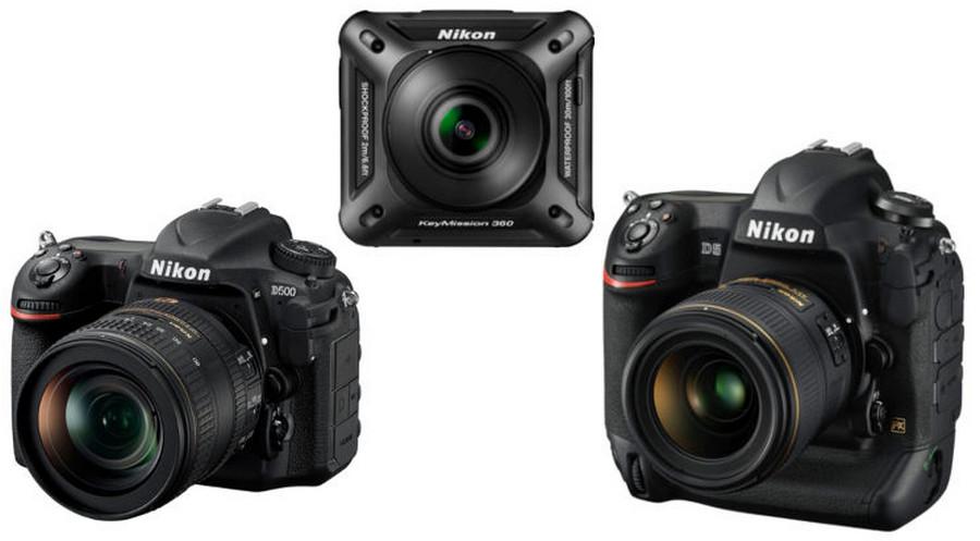 Nikon DSLR D5 dan D500