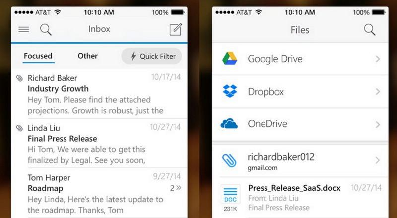Outlook app Microsoft