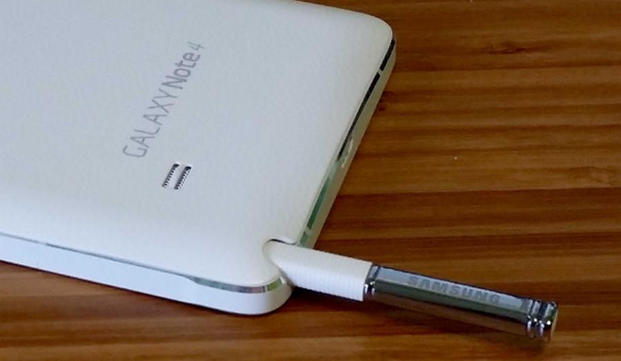 S Pen di Galaxy Note 4