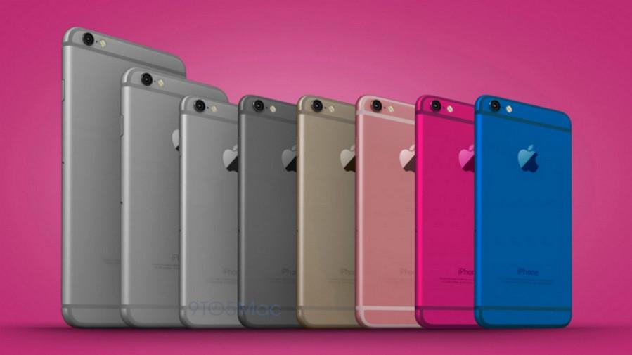 iPhone 6c desain concept color