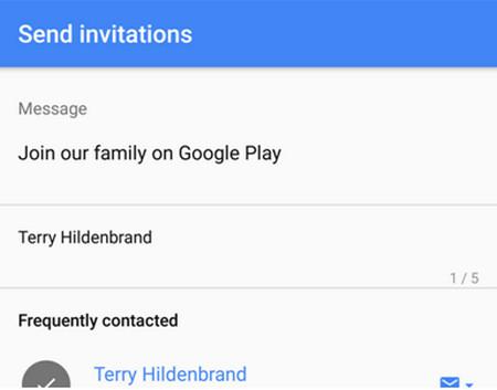 Google Play Music Family Play setting 2
