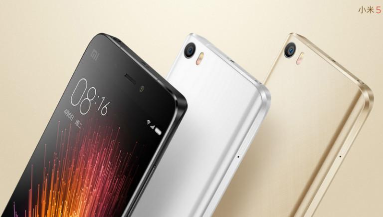 Xiaomi Mi 5 Tampil Seksi dengan Spek Gahar