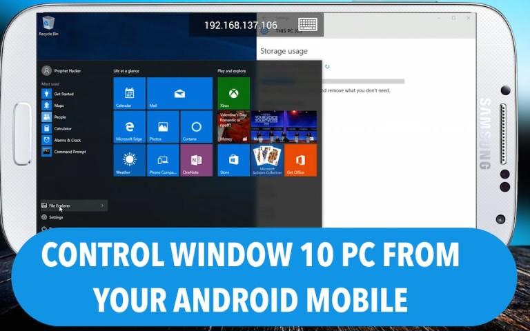 Ini Dia Cara Kontrol Windows 10 Lewat Android