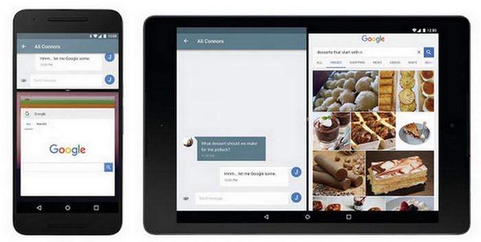 Android N fitur Multi Window