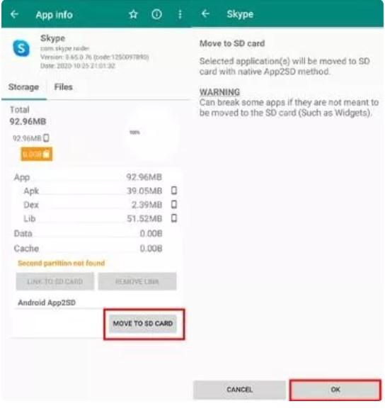 Cara Memindahkan Aplikasi ke Kartu Memori SD Card