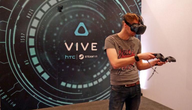 HTC Vive Lambungkan Saham HTC