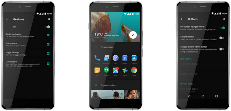 OnePlus X gbr 15