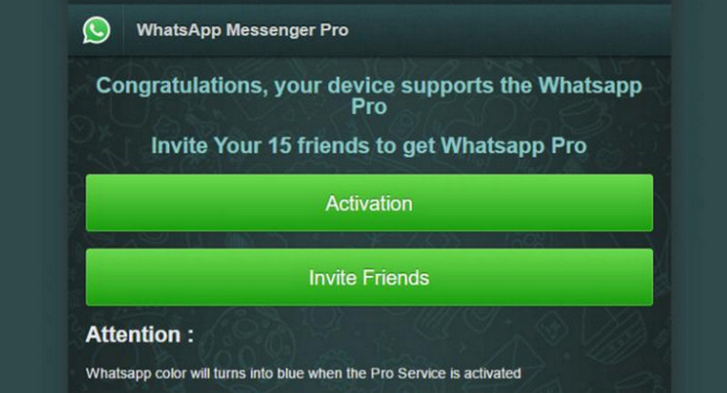 Penipuan WhatsApp Pro
