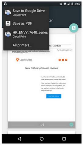 Print dari Android 3